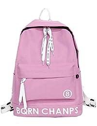 Preisvergleich für XIAODONG Student Rucksack - Eine Vielzahl von Farben zur Auswahl,Pink-29 * 12 * 42cm