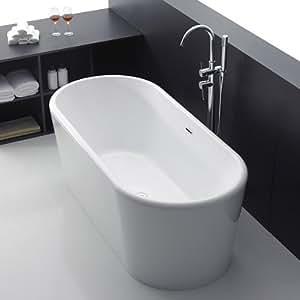 freistehende badewanne karpathos acrylbadewanne wanne. Black Bedroom Furniture Sets. Home Design Ideas