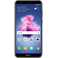 Huawei P Smart 5.65-Inch 3 GB 13 MP UK SIM-Free Smartphone - Black, 51092ENQ