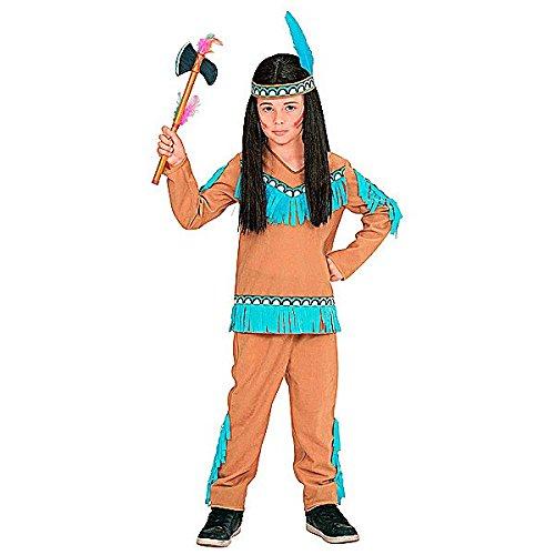 (Widmann 06674 Kinderkostüm Indianer, 104)