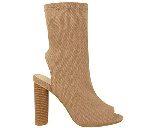 Shoesdays-Botas-de-Lona-para-mujer-negro-negro-355