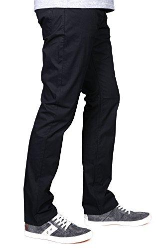 Redman Pantalon toile,regular fit, homme, Noah Jazz Noir