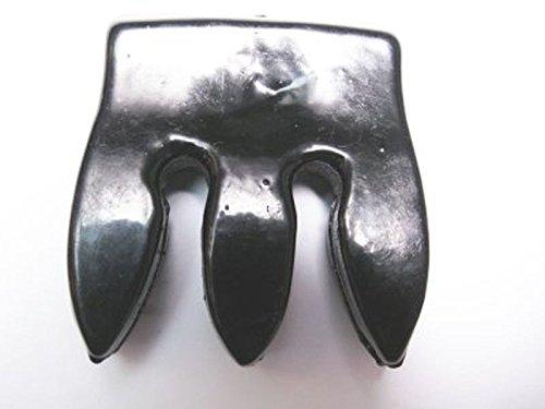 janika-3-4-size-cello-bridge-mute-heavy-metal-alloy-trident-68g-for-quiet-practice-new