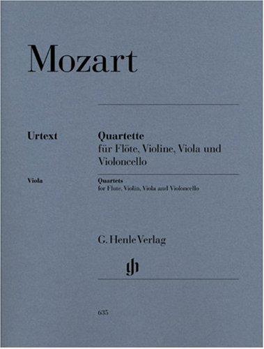 Quatuors (Fl/Vl/Va/Vc) --- Flûte/Violon...