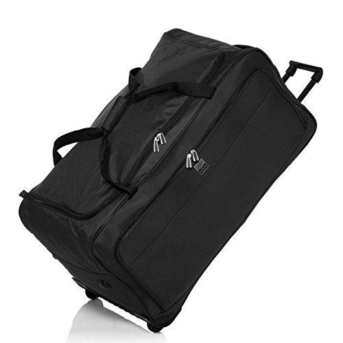 France bag sac de voyage a roulettes souple 82 cm noir