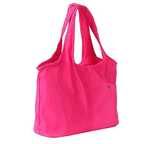 Donne Casual Moda Borsa A Tracolla Stampa Borsa In Nylon Red