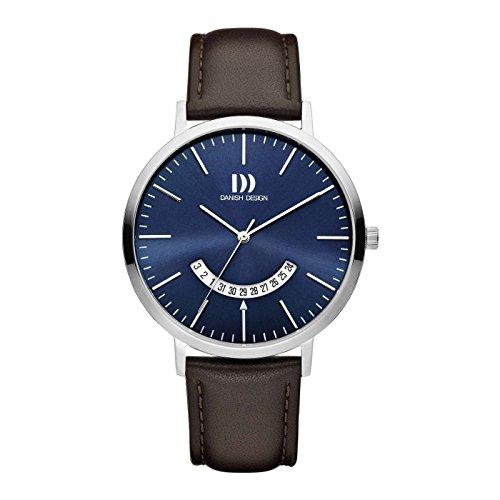 Danish Design Reloj Analógico para Hombre de Cuarzo con Correa en Cuero IQ22Q1239
