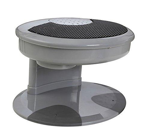 BeautyNail Nageltrockner Kunst Hand & Füße Polieren Lack Trockner Heiß & Kalt Gebläse Ventilator Automatisch Sensoren Maniküre Werkzeug zum Trocknen Nägel Polieren Acryl, grey - Nägel Heiße