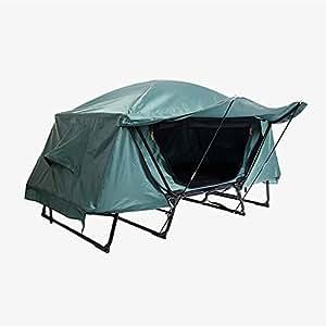 GKPLY Tenda da Campeggio all'aperto - Tenda da Campeggio con Attrezzatura Singola, Tenda da Campeggio a Terra autoportante, Doppia a Prova di Pioggia e a Prova di umidità