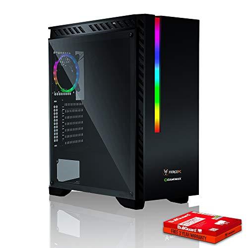 Fierce Hawk RGB Gaming PC - Schnell 4.3GHz Octa-Core AMD Ryzen 7 2700X, 240GB Solid State Drive, 1TB Festplatte, 16GB 2666MHz, NVIDIA GeForce GTX 1050 Ti 4GB, Windows Nicht Enthalten 893800