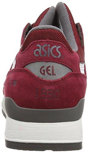 Asics Gel-lyte Iii, Unisex-Erwachsene Sneakers Braun (burgundy/white 2301)