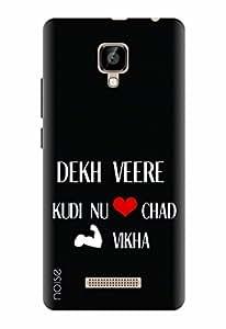 Noise Designer Printed Case / Cover for Lava A48 / Patterns & Ethnic / Dekh Veere Design