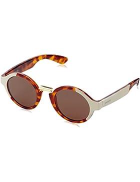 MR.BOHO, Cream/leo tortoise hackney with classical lenses - Gafas De Sol unisex multicolor (carey/crema), talla...