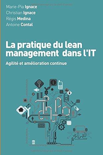 La pratique du lean management dans l'IT par Marie-Pia Ignace