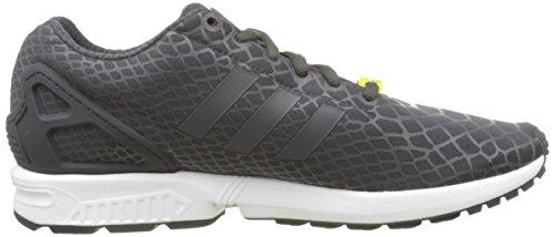adidas ZX Flux Techfit, Baskets Basses Homme Noir (Shadow Black S16-St/Shadow Black S16-St/Ftwr White)