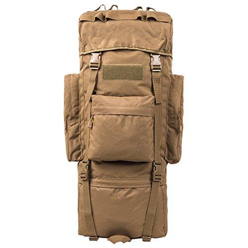 GOUQIN Outdoor Rucksack Klassische Mode Von Outdoor Dual Umhängetaschen 100 L Masse Klettern Taschen Wandern Paket Tasche E