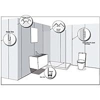 Aidapt - Widepanel Aluminium Interior Corner