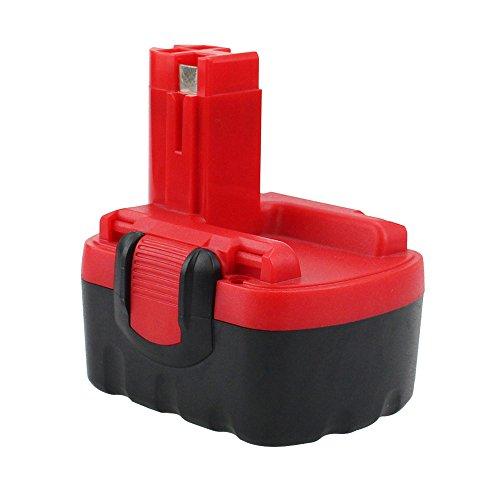 Reoben reemplazo para Bosch Batería 14,4V 3000mAh Ni-MH BAT038 BAT040 BAT041 BAT140 BAT159 2607335685 2607335533 2607335534 2607335711