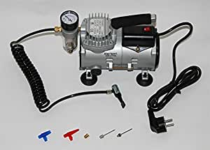 mini air compresseur avec manomètre, 220 V, 4 bar