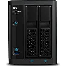 WD My Cloud Pro Series PR2100 - Almacenamiento en red (NAS) de 4 TB y servidor multimedia con transcodificación