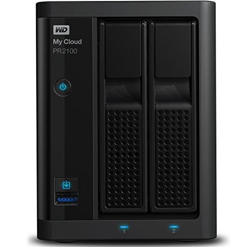 WD My Cloud Pro Series PR2100 - Almacenamiento en red (NAS) de 4 TB y servidor multimedia con transcodificación width=