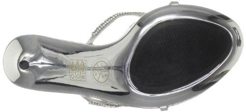 Unze Evening Sandals, Sandali col tacco donna Argento (Silber (L18566W))