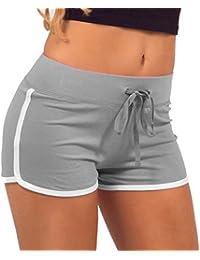 ROPALIA Short de sport rétro pour femme.