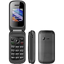 Cellulare per anziani sportellino anziani telefono tastiera grande e facile da utilizzare con GSM Dual sim con tasti grandi