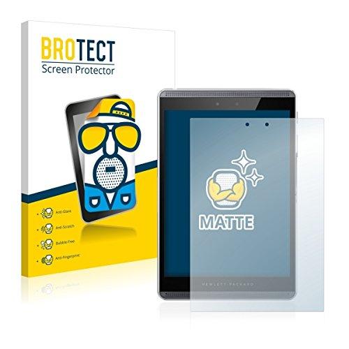 2X BROTECT Matt Bildschirmschutz Schutzfolie für HP Pro Slate 8 (matt - entspiegelt, Kratzfest, schmutzabweisend)