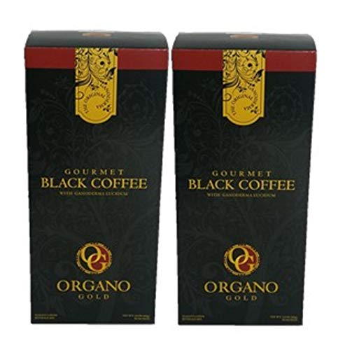 2 Box of Organo Gold Ganoderma Gourmet - Black Coffee (30 sachets)