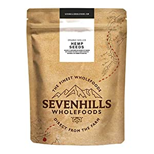 Sevenhills Wholefoods Organic Shelled Hemp Seeds 1kg 1