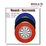 Bull's Board Surround Steel Dart Auffang - Ring für Dartscheibe, Farbe:schwarz