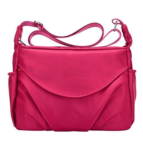 Frauen Casual Schultertaschen Wasserdichte Multi Taschen Nylon Handtaschen A