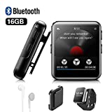 Lettore MP3 BENJIE 16GB Bluetooth 1.5'Sport Lettore MP3 Full HiFi Screen Lossless...