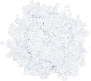 Verbetena 012000053 - Coriandoli, colore: bianco, 1 kg