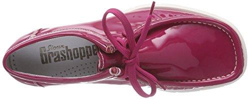 Sioux Grashopper-d-141, Mocassins femme Rose - Pink (lampone)
