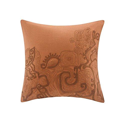 modello in cotone bronzo copertura dell'ammortizzatore ricamato/lenzuola/copertina di cotone/Federa/Fodera di