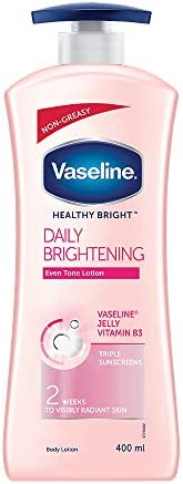 Vaseline Healthy Bright Daily Brightening Body Lotion, 400 ml