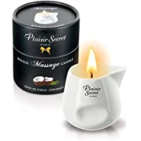 Plaisir Secret - Bougie De Massage - Plaisirs Secrets - Bougie Plaisirs Secrets - Coco