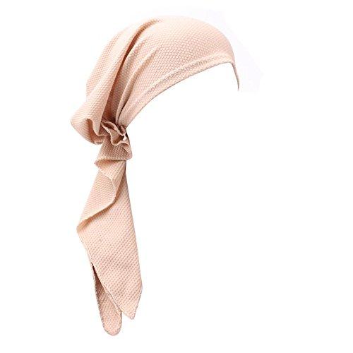 ITISME Vetement Hijab A La Mode, Mode Musulmane Femmes Inde Musulman Stretch Turban Chapeau Coton Perte De Cheveux Head Head Scarf Wrap Femme VoiléE