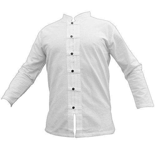 Fisher-Shirt RZI-01, White, XL, longsl.