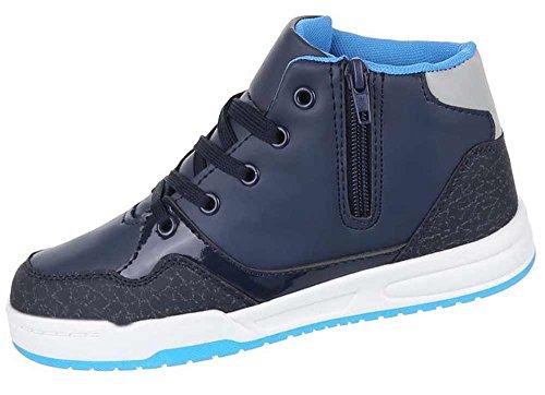 Kinderschuhe Freizeitschuhe Sneakers Blau