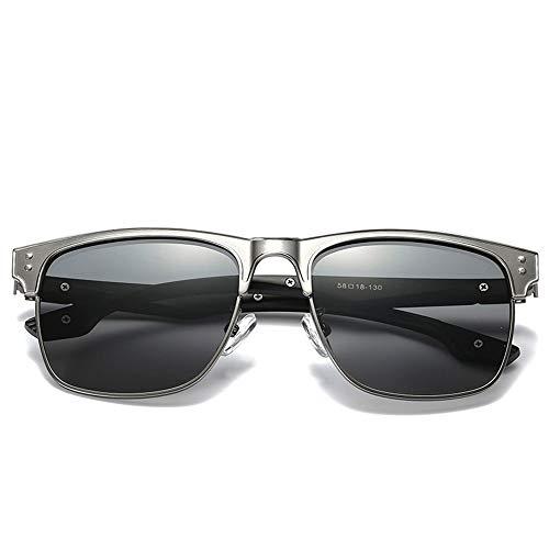 WULE-RYP Polarisierte Sonnenbrille mit UV-Schutz Classic Driving Fishing Polarized Sonnenbrillen für Männer und Frauen, Bunte Linsen. Superleichtes Rahmen-Fischen, das Golf fährt (Farbe : D)