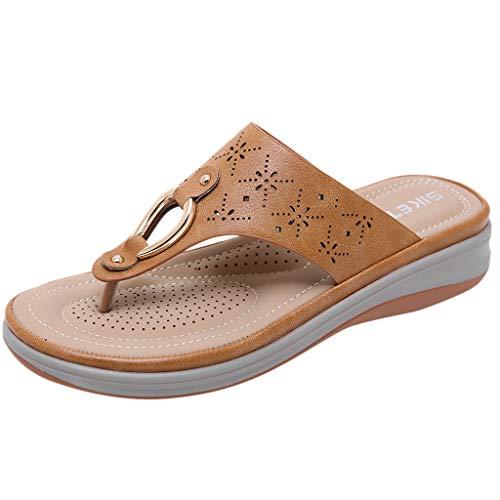 Vovotrade Donna Comodi Sandali Comodi Sandali Casual Ciabatte Antiscivolo Pantofole Punta Sandali Infradito Donna