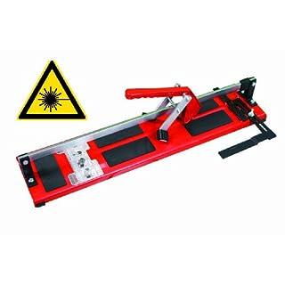 Heka Fliesenschneider mit Laser EuroCut 1000 | Schnittlänge: 1000 mm | Diagonalschnittlänge: 700 mm | Feinsteinzeug geeignet
