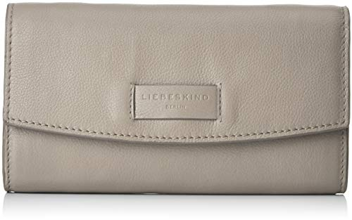Liebeskind Berlin Damen Essential Clutch Small Grau (String Grey), 4x12x21 cm