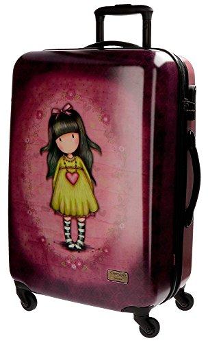 Gorjuss Heartfelt Equipaje Infantil, 67 cm, 97 Litros, Rosa