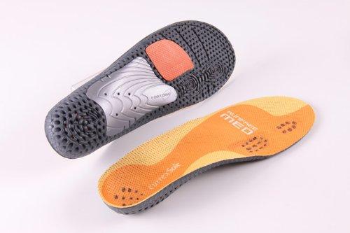 currexSole runfree Einlagen-Medium Arch Profil-Europa führenden Einlagen für Laufen und Fuß, (FOOTDISC) -