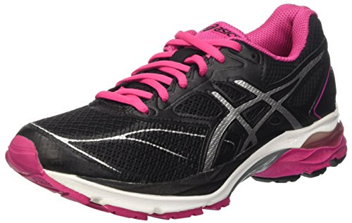 Asics Gel-Pulse 8, Women's Gymnastics, Nero (Black/Silver/Sport Pink), 8 UK (42 EU)