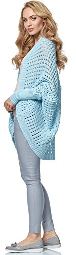 Merry Style Cardigan pour Femme MSSE0032 Bleu Clair